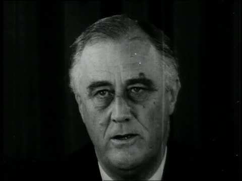 u.s. president roosevelt answers questions at a press conference. - president stock videos & royalty-free footage