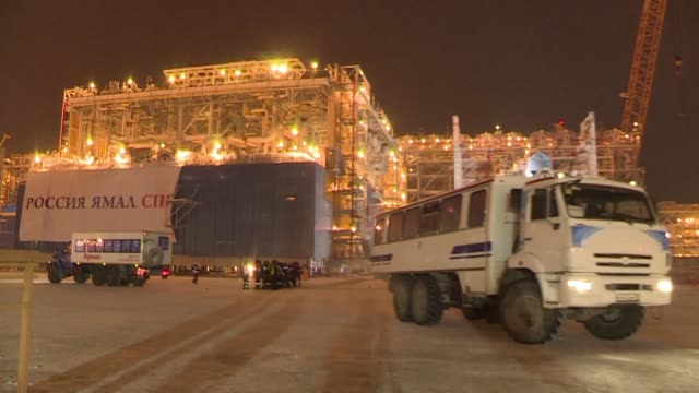 President Vladimir Putin is set to launch a $27 billion liquefied natural gas plant in the snow covered plains of the Arctic as Russia hopes to...