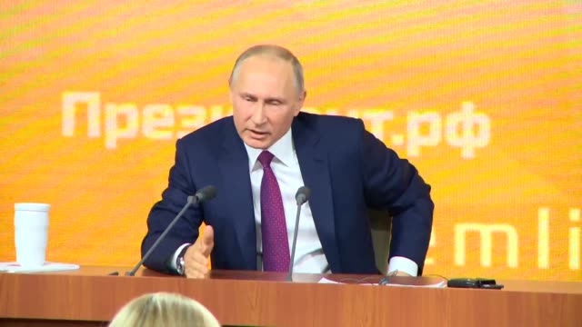 President Vladimir Putin on Thursday said Russians do not want and will not stand for a Ukraine style coup as he responded to a question from a rival...