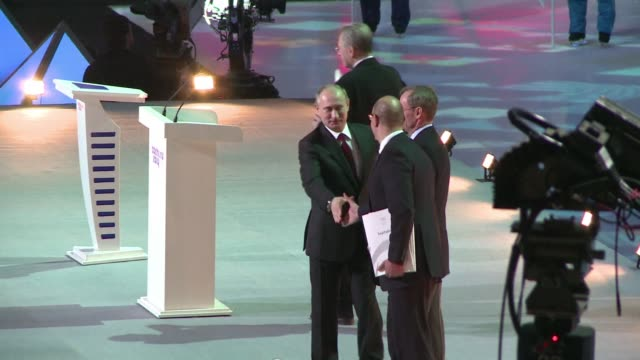 president vladimir putin on thursday vowed russia would justify expectations when it hosts the winter olympic games in sochi in one year after... - winter olympic games stock videos and b-roll footage