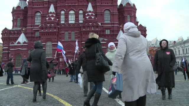 president vladimir putin on tuesday signed a treaty claiming the black sea region of crimea as russian territory in a defiant expansion of russia's... - assertiveness stock videos & royalty-free footage