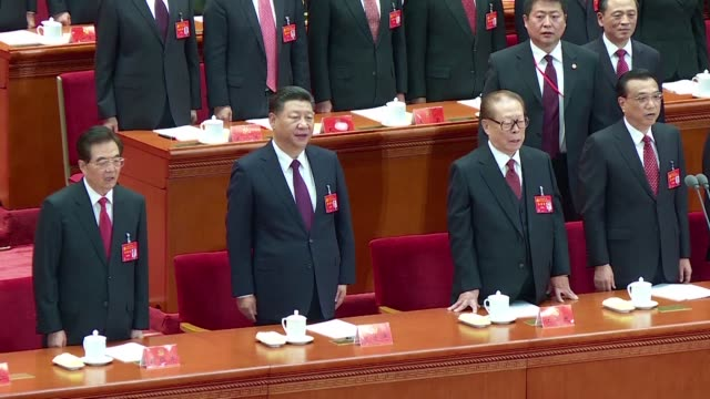 president xi jinping declared china is entering a new era of challenges and opportunities as he opens a communist party congress expected to enhance... - the past stock videos & royalty-free footage