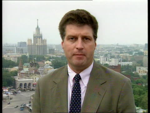 President Yeltsin's health ITN Moscow CMS Julian Manyon i/c SOT and sign off