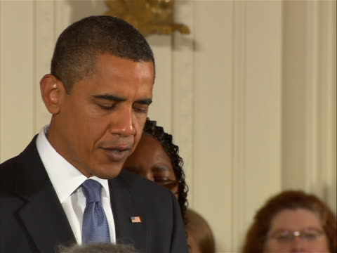 of presidentêbarackêobamaêmaking remarks in the white house after he signs into law the matthew shepard and james byrd jr. hate crime prevention act.... - human sexual behaviour stock videos & royalty-free footage