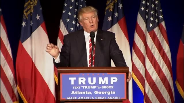 GOP presidential candidate Donald Trump calls the mass shooting in Orlando Florida days earlier a horrible situation that will happen again and again...