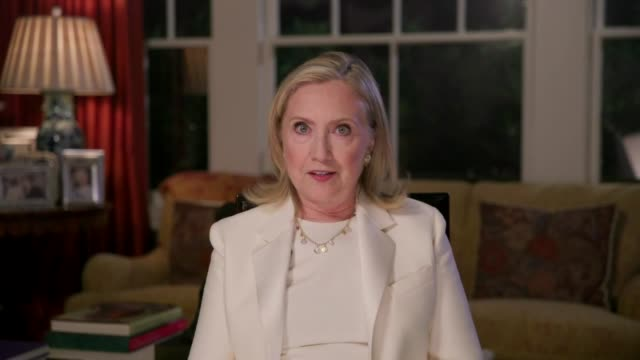 vidéos et rushes de 2016 presidential candidate hillary clinton says in videotaped remarks to the 2020 democratic national convention that for four years people told her... - post it