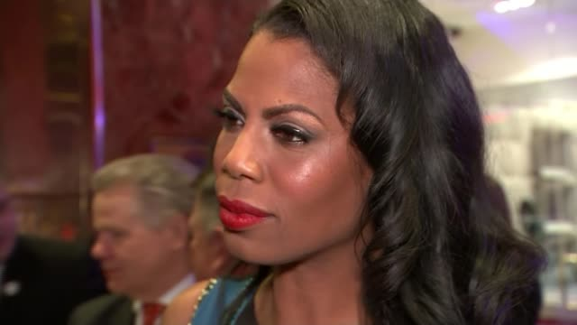 donald trump and hillary clinton win in new york omarosa manigault interview sot - omarosa manigault newman stock videos & royalty-free footage