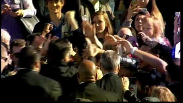 final day of campaigning for barack obama and mitt romney usa virginia ext various of mitt romney shaking hands and waving to crowds as towards stage... - united states presidential election stock videos & royalty-free footage