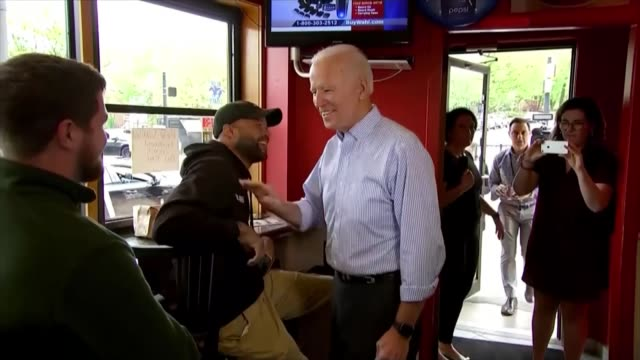 joe biden enters race for democratic nomination usa delaware wilmington int former vice president joe biden now a candidate for the democratic... - presidential candidate stock videos & royalty-free footage