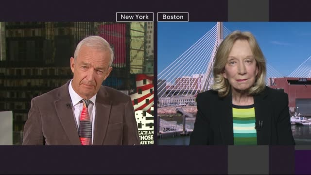 polling day commentary and interviews USA New York Manhattan EXT Doris Kearns Goodwin 2 WAY interview from Boston SOT