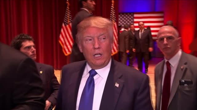 Trump pulls out of final debate before Iowa Caucus Reporter to camera SOT Trump speaking to press about attending the rally rather than the...