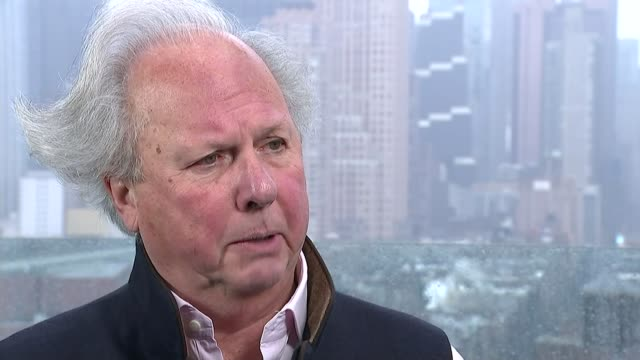 graydon carter interview usa new york manhattan ext graydon carter interview sot - graydon carter stock videos and b-roll footage