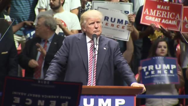 Presidential nominee Donald Trump asks Austin Texas audience if they can imagine what Hillary Clinton had in 33000 emails her claims are lies...