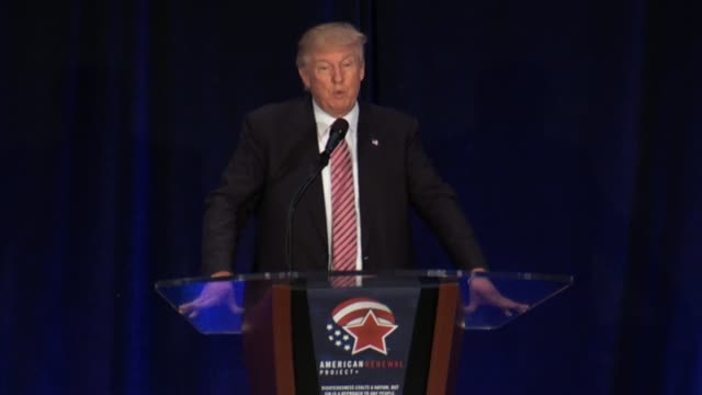 Presidential nominee Donald Trump tells the Pastors in the Pews gathering in Orlando FL about having beat Republicans during the primaries that his...