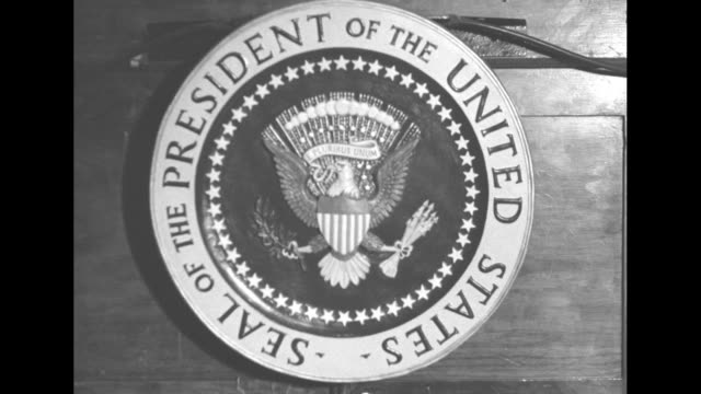presidential seal - seal stamp stock videos and b-roll footage