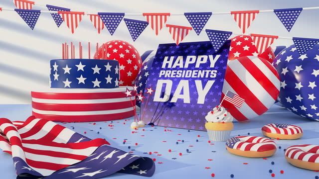 presidents day - 4k resolution - top hat stock videos & royalty-free footage
