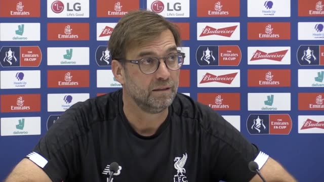 press conference quotes from liverpool manager jurgen klopp ahead of their fa cup fourth round tie against shrewsbury town the german says he doesn't... - coach stock videos & royalty-free footage