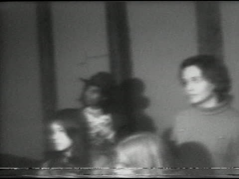 representative shirley chisholm's presidential campaign visit to xerox tower in midtown, rochester, ny december 6, 1971. chisholm points out that she... - 連邦議会議員点の映像素材/bロール
