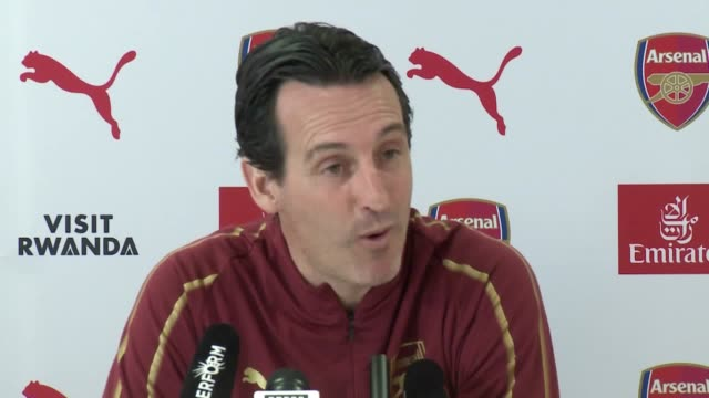 Press conference with Arsenal boss Unai Emery ahead of his side's Premier League clash against Bournemouth
