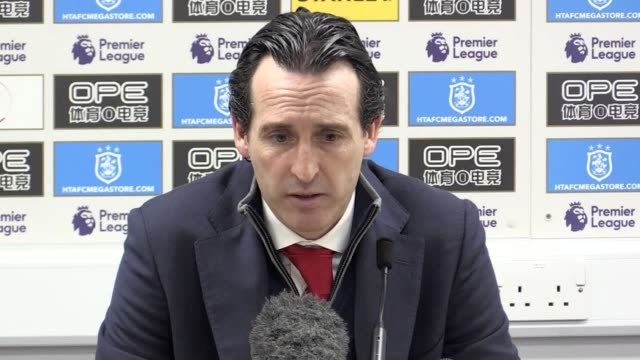 Press conference with Arsenal manager Unai Emery following the 21 away win over Huddersfield He talks about the importance of getting back to winning...
