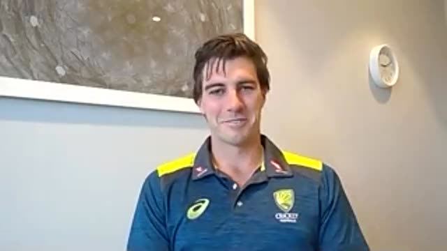 press conference with australian bowler pat cummins the morning after england beat australia by two runs in a thrilling twenty20 international at the... - exhilaration stock videos & royalty-free footage
