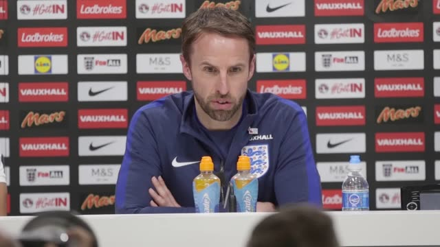 Press conference with England manager Gareth Southgate ahead of their clash against Lithuania at Wembley stadium on Sunday He discusses Graham Taylor...