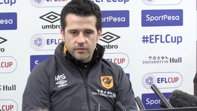 Press conference with Hull City manager Marco Silva ahead of the EFL Cup semifinal second leg tie against Manchester United