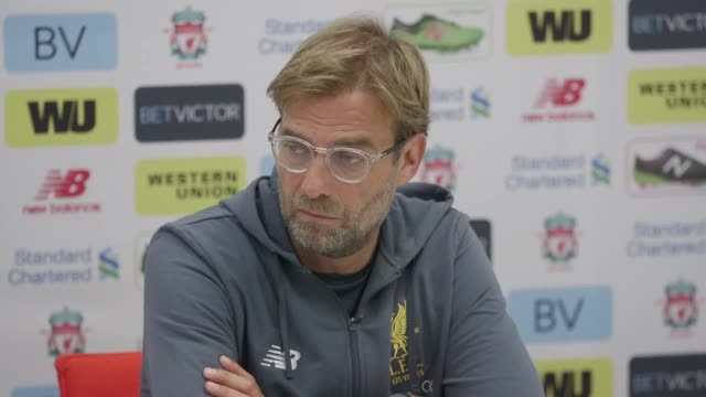 Press conference with Liverpool manager Jurgen Klopp ahead of the game against Spurs He He talks about Mane's fitness after he was included in the...