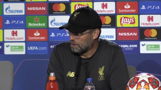 Press conference with Liverpool manager Jurgen Klopp following their 20 Champions League final victory over Tottenham in Madrid short version