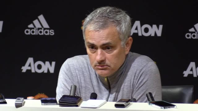 Press conference with Manchester United manager Jose Mourinho following their 00 stalemate with West Brom He discusses making the top four giving...