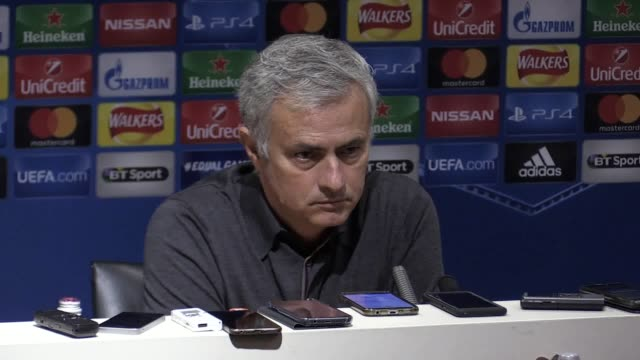 Press conference with Manchester United manager Jose Mourinho following their 20 win over Benfica He analyses the game saying Benfica made it very...