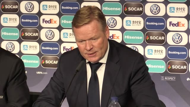 Press conference with Netherlands manager Ronald Koeman following their 31 AET win over England in the semi finals of the Nations League