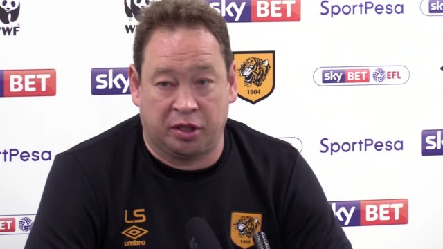 stockvideo's en b-roll-footage met press conference with new hull city manager leonid slutsky. he says says his first impression of the club and squad are good, says he wants to have a... - english football association