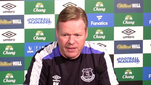 Press conference with Ronald Koeman ahead of Everton's Premier League match against Leicester He discusses player availability squad depth Jagielka's...