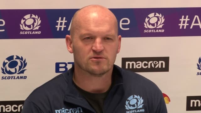 Press conference with Scotland head coach Gregor Townsend ahead of Saturday's Guinness Six Nations Test with Wales at Murrayfield