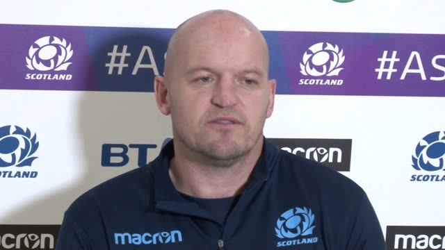 Press conference with Scotland head coach Gregor Townsend ahead of their final Six Nations match with England at Twickenham on Saturday