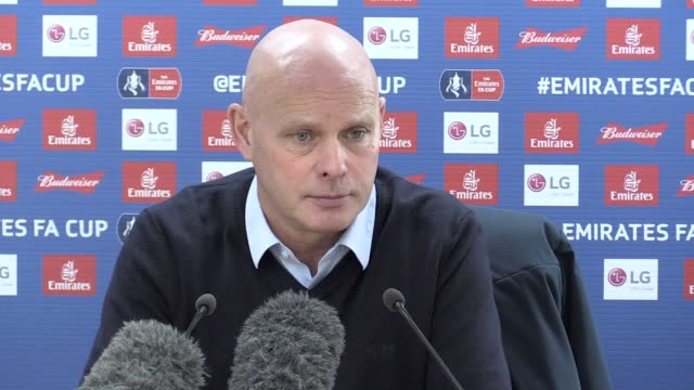 Press conference with Sheffield Wednesday caretaker manager Steve Agnew Agra's of the FA Cup tie away to Chelsea He talks about the team's injury...
