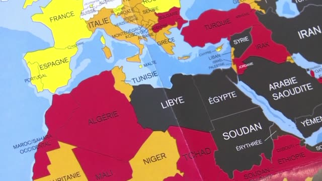 press freedom is getting worse in north africa because of the persistence of red lines such as corruption and conflicts of interest reporters without... - tunisia stock videos & royalty-free footage