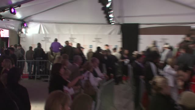 press line at the 7th annual tribeca film festival tennessee premiere at borough of manhattan community college / tribeca performing arts in new york... - community college stock videos & royalty-free footage