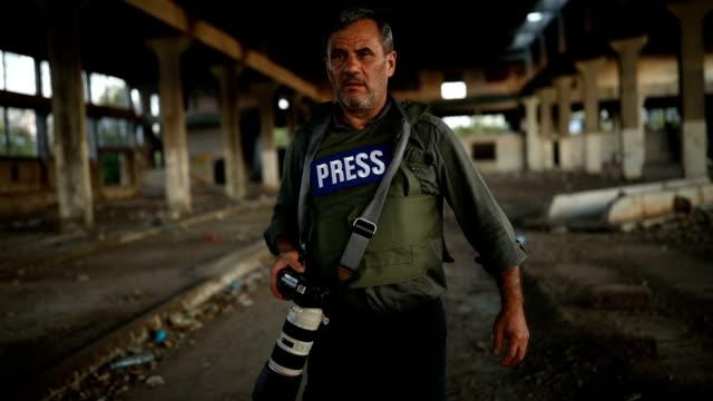 press photographer - journalist stock videos & royalty-free footage
