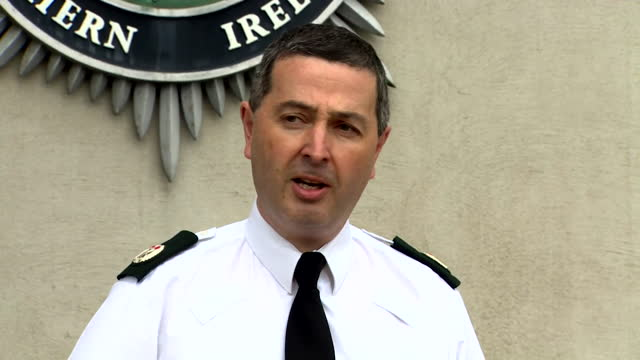 """presser asst chief constable jonathan roberts, about violence and growing tensions in northern ireland """"the disorder, and the fact it was sectarian,... - adolescence stock videos & royalty-free footage"""