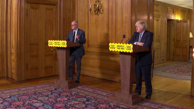 """presser boris johnson pm, about regrets over decisions, one year on from first coronavirus lockdown """"the single biggest false assumption was the... - contemplation stock videos & royalty-free footage"""