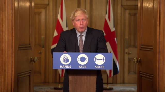 presser boris johnson pm about students returning to university during coronavirus pandemic don't socially gather in groups of more than six now and... - advice stock videos & royalty-free footage