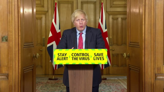presser boris johnson pm announces support bubbles being allowed in england during coronavirus lockdown for anyone living alone or single parents of... - bubble stock videos & royalty-free footage