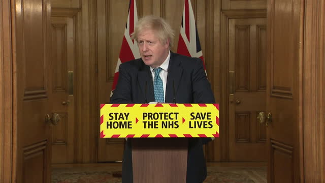"presser boris johnson pm, condemns president trump for encouraging supporters to storm capitol building over anger of presidential election result ""i... - north america stock videos & royalty-free footage"
