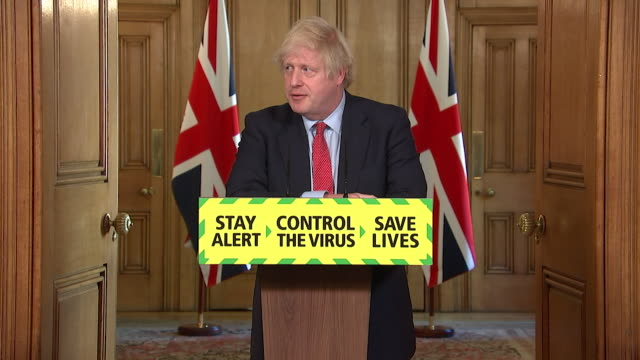 presser boris johnson pm, stopping sir patrick vallance and chris whitty answering questions on dominic cummings breaking coronavirus lockdown rules - answering stock videos & royalty-free footage