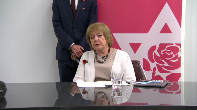 presser dame margaret hodge mp labour critical of jeremy corbyn in his role in allowing anti semitism in the labour party after report findings - {{relatedsearchurl(carousel.phrase)}} stock videos & royalty-free footage