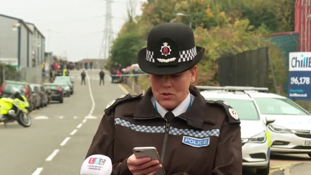 presser deputy chief constable pippa mills about the 39 bodies found in the lorry in essex it's imperative that the operation is conducted with the... - human trafficking stock videos & royalty-free footage