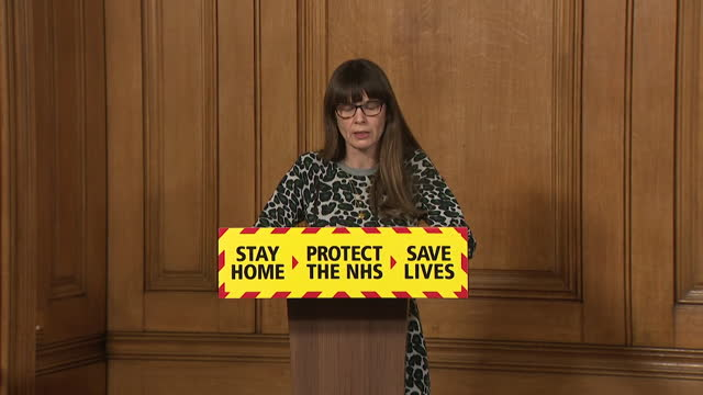 presser dr susan hopkins, public health england, about how contact tracing tracked down the individual who tested positive for the brazilian variant... - latin america stock videos & royalty-free footage