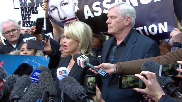Presser Jennifer Robinson Julian Assange's lawyer about his arrest 'This sets a dangerous precedent for all media and journalists around the world...